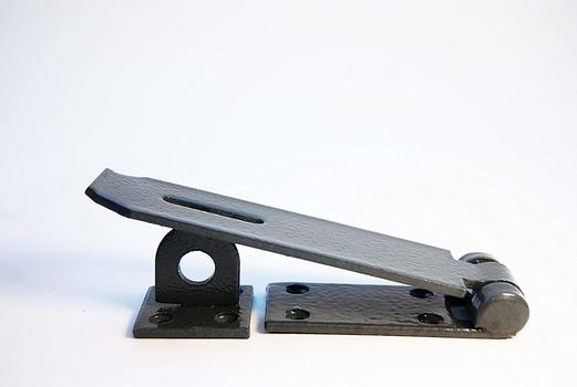 IIT 43620 Security Hasp with Hardened Steel Plate,