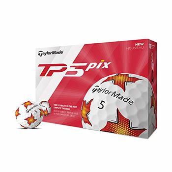 New TaylorMade TP5 Pix Golf Balls (One Dozen)