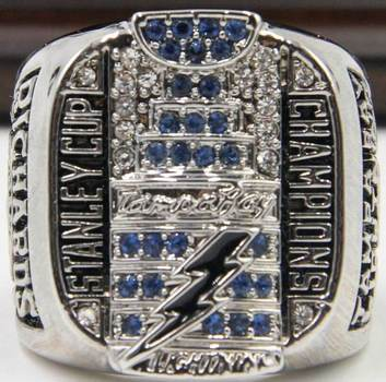 NHL Tampa Bay Lightning Stanley Cup Championship Ring Size 10