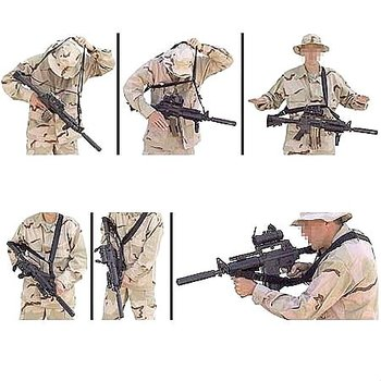 New Rifle Sling Strap Defense Multi-Point Tactical Rifle Sling