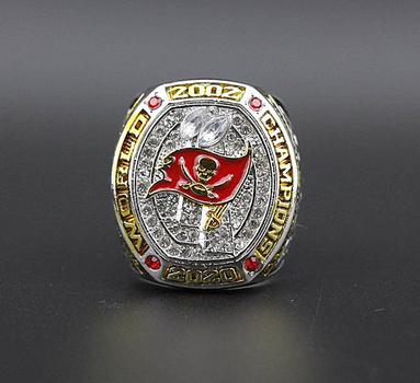 NFL BRADY 2021 Tampa Bay Buccaneers Super Bowl Championship Replica Ring Size 12