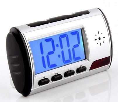Mini Spy Clock Hidden Camera w/ Battery Retail $199.00