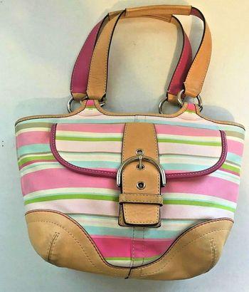 COACH Satchel Hobo Bag Handbag Purse