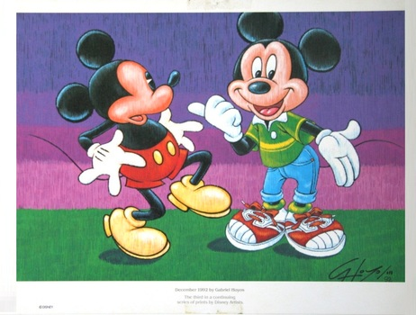 Collectible and Vintage ArtWork Picture Original and Licensed by Disney by Gabriel Hoyos And More