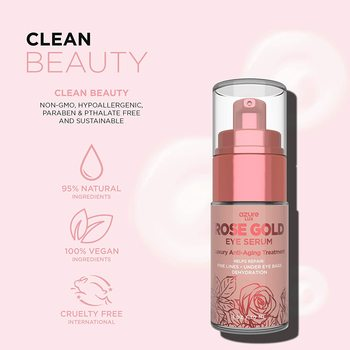 New Rose Gold Luxury Anti Aging Eye Serum Treatment