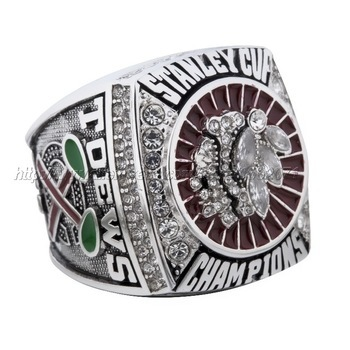 Chicago Black Hawks 2013 Stanley Cup Champions Replica Ring Size 10