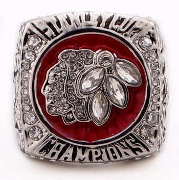 Chicago Black Hawks 2013 Stanley Cup Champions Replica Ring Size 11