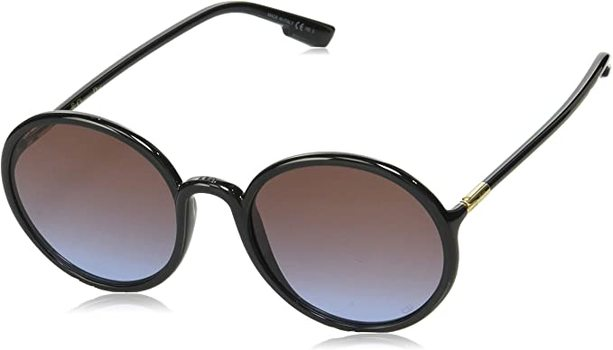 New Christian Dior Black/Red Lens Sunglasses
