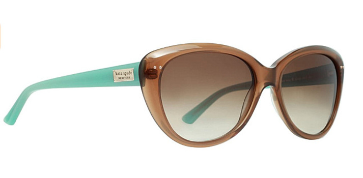 New Kate Spade Beautiful Sunglasses (Tiffany Style)