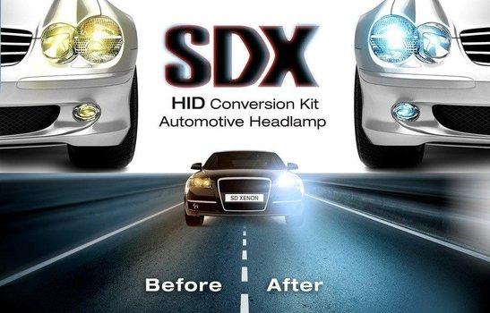 SDX HID Headlight DC Xenon Premium Conversion Kits™ - 9007 (HB5) Bi-Xenon - 6000K