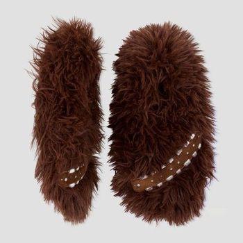 Fuzzy Slipper Socks Marvel (KIDS) STAR WARS - Chewbacca - Size L/XL