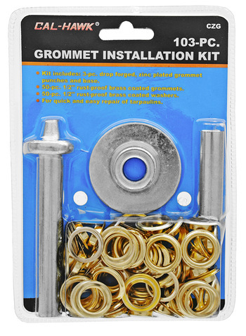 Cal-Hawk 103 Pieces Grommet Installation Kit