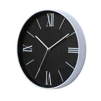 12 Inch Silent Smooth Motion Minimalist Wall Clock