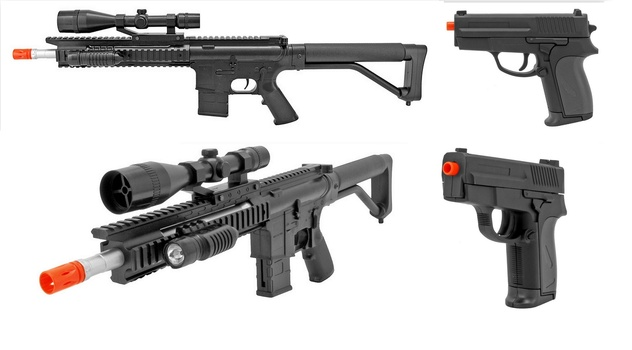New Great Combo Special 2 Units Pistil and Riffle