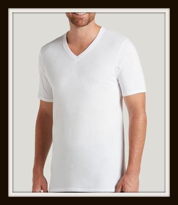 New Jockey Staycool V-Neck T-Shirt