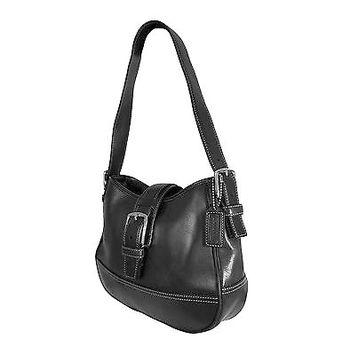 Coach Signature Hobo Leather Satchel Bag Retail $398 Handbag