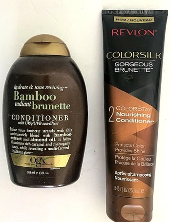 2 Pieces For Brunette After Shampoo