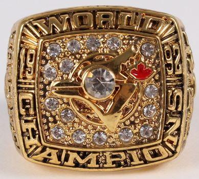 Toronto Blue Jays 1992 World Series Champions Replica Ring Size 11