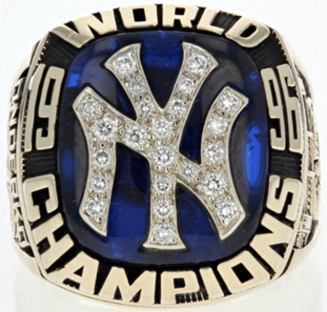 New York Yankees 1996 World Series High Quality Replica Ring Size 10