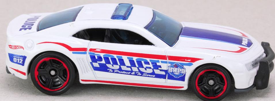 49e58c51d32 New HOT WHEELS HW City Works Police Camaro