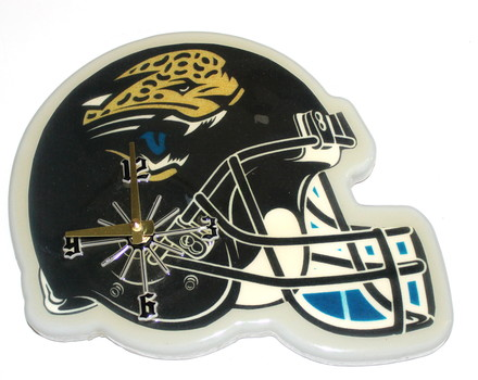 Made In USA New NFL Jacksonville Jaguar Helmet Wall Clock