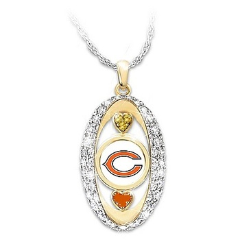 "New For The Love Of The Game"" Chicago Bears Replica Pendant"