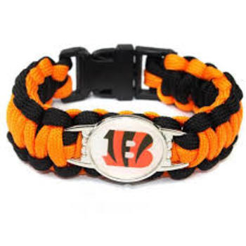 New NFL Cincinnati Bracelet Unisex