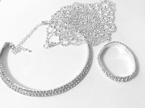 New Silver Plated Bulk Of Jewelry