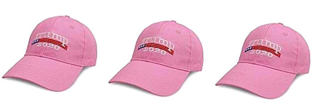 3 Pack Donald Trump USA Adjustable Baseball Hat For Her