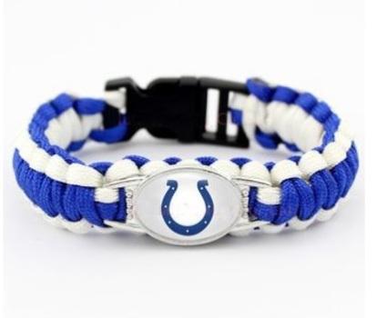 Indianapolis Colts Survival Paracord Bracelet