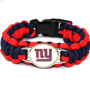 New York Giants Paracord Team Bracelet