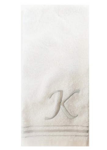 New SKL Hand Towel WIth Letter K