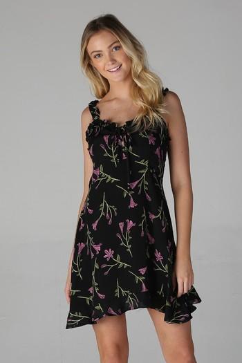 New RUFFLE STRAPS SUNDRESS Dress Size Small