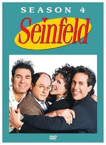 24 Episodes!!! Seinfeld Season 4 DVD Set (4 Discs)