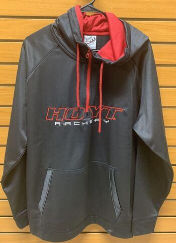 Hoyt Archery Hooded Sweatshirt Zipper Hoodie Size X-Large