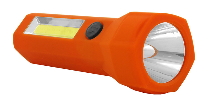New Assistance Construction COB LED Flashlight - Assorted Colors