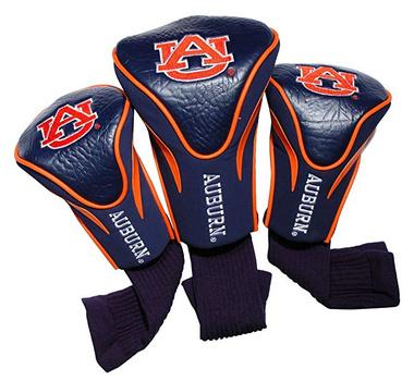Auburn University Tigers NCAA 3 Pack Contour Head Covers
