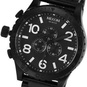 Nixon 51-30 Chrono Watch Black Retail $499.95