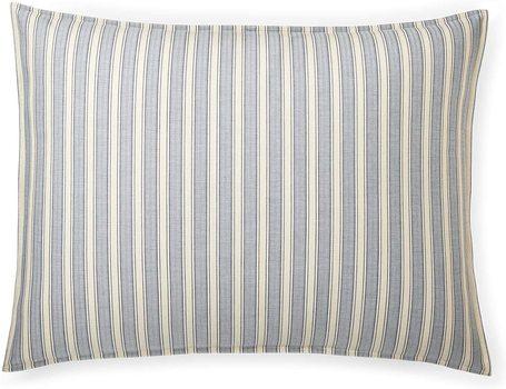 Ralph Lauren Graydon Bold Stripes Cotton Standard Pillow Sham