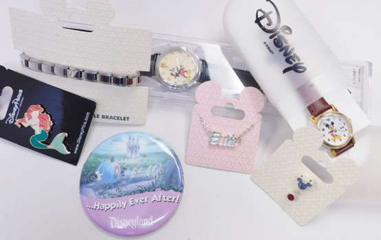 8 Pieces Bulk Of DISNEY Watches And Jewelry Original And More