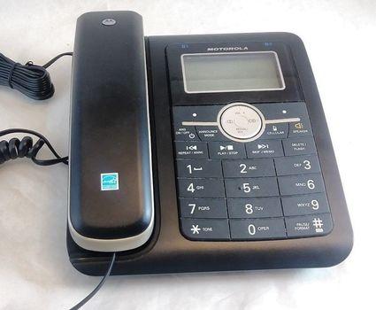 Motorola L513CBT DECT 6.0 CordedTelephone with Bluetooth