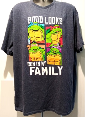 New Turtle Men's Shirt, Size 2X-Large