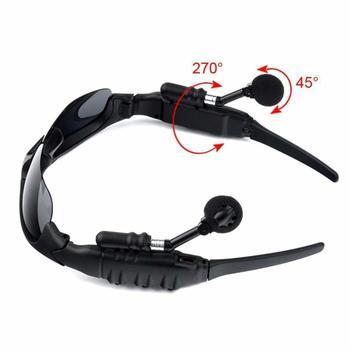 Wireless Polarized Sunglasses Headset Headphone