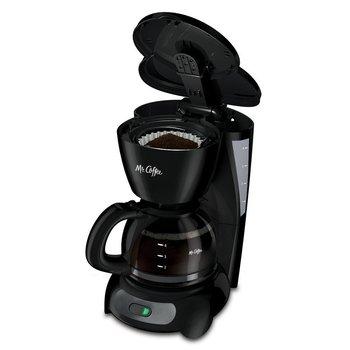 Mr. Coffee 5-Cup Coffee Maker, Black