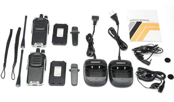 4 Peces BaoFeng UV-5R Dual Band Two Way Radio (Black)