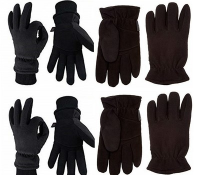 5 Pairs Of Thermal Gloves Different Styles, Retail Up To $300.00