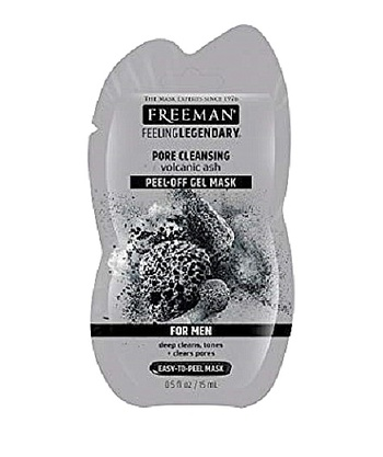 3 Pieces Freeman Facial Volcanic Ash Cleansing Peel-Off Mask