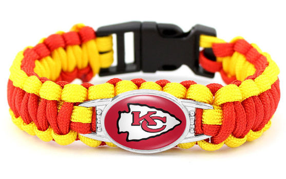 New NFL Kansas City Chiefs Bracelet Unisex