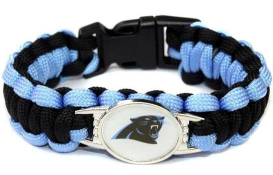 New NFL Carolina Panthers Bracelet Unisex