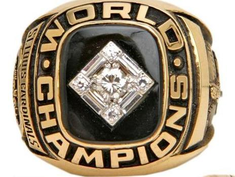 MLB St Louis Cardinals World Series 1967 Champions Replica Ring Size 11